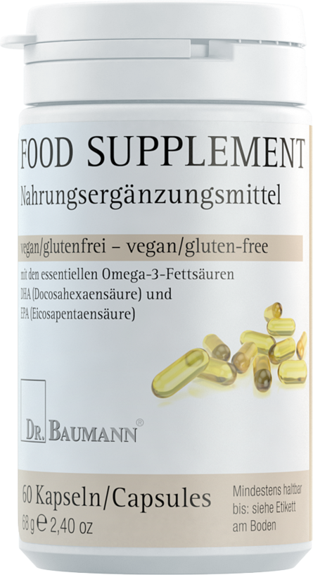 Food Supplement Omega 3